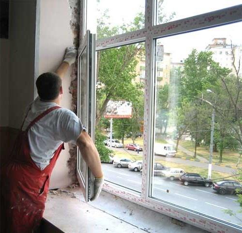 Как поставить пластиковое окно