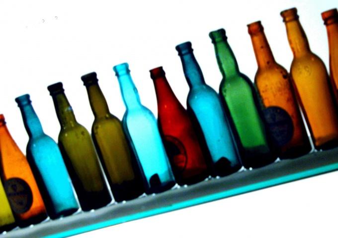 Яркие бутылки для ярких настоек