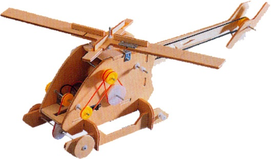 How to make a helicopter on the remote control