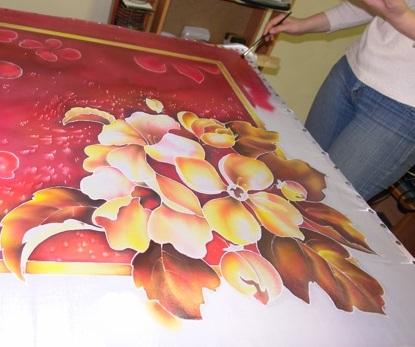 Как рисовать для батика