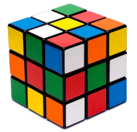 How to assemble the cross in a cube Rubik