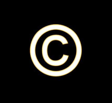 How to put the copyright sign