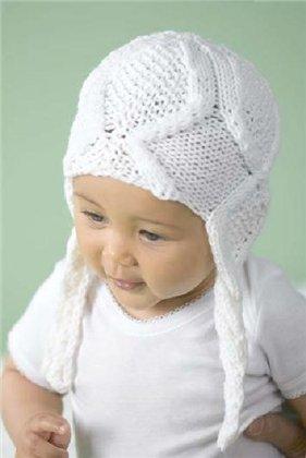 Как связать крючком детскую шапочку