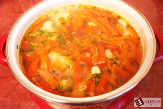 Как приготовить суп без мяса