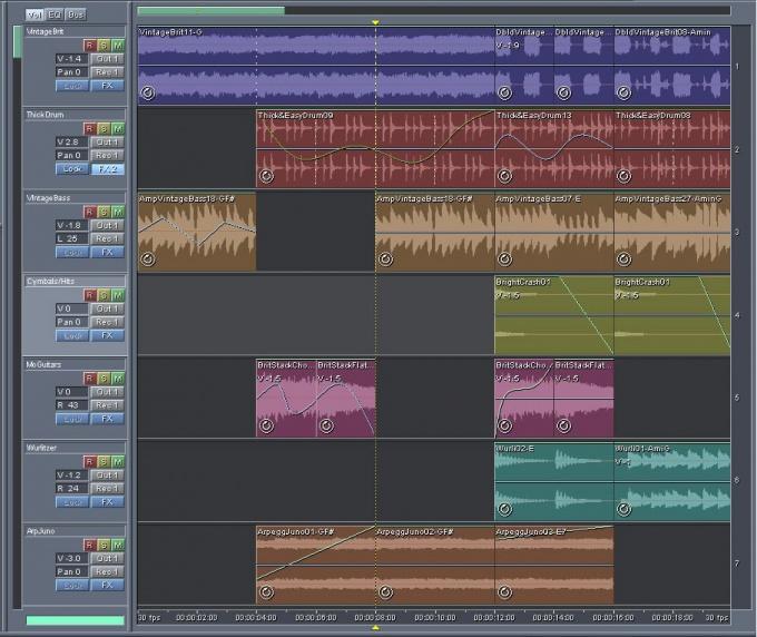 Для наложения голоса подойдет любая программа-аудиоредактор
