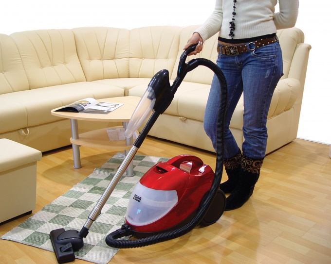 Get rid of the smell in the carpet conventional vacuum cleaner