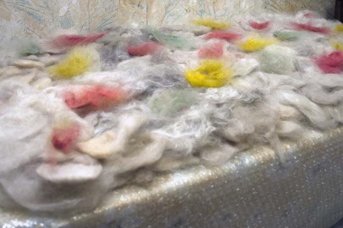 Как покрасить шерсть