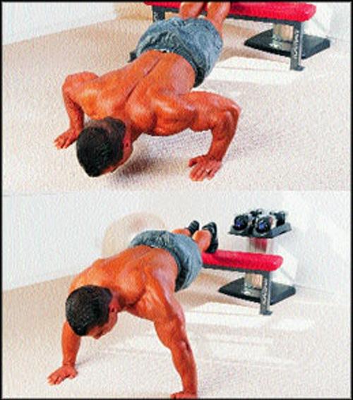 Тренировка верхних грудных мышц