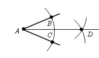 Как построить <b>биссектрису</b> <strong>угла</strong>