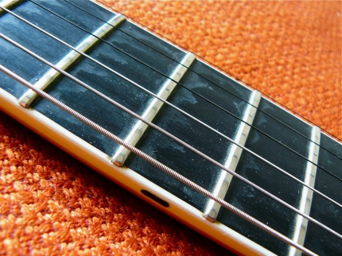 How to set the guitar fretboard