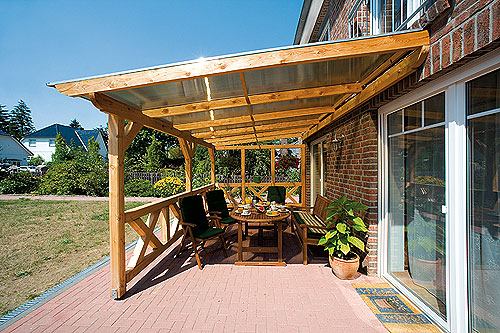 How to build a big terrace