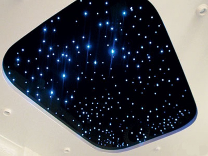 сделать звёздный потолок