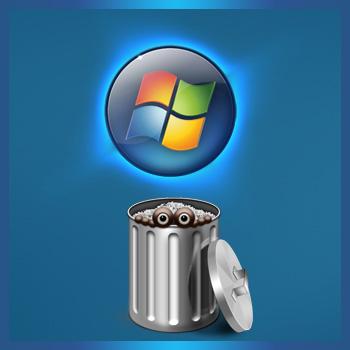 Как удалить системные файлы