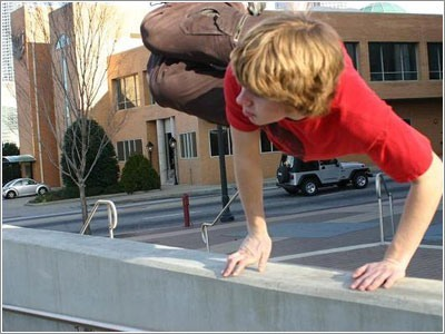 How to learn parkour at home