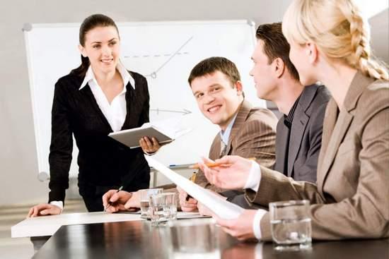 Проведение тренингов - залог повышения продаж