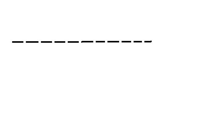 дополнение подчёркивается пунктирной линией