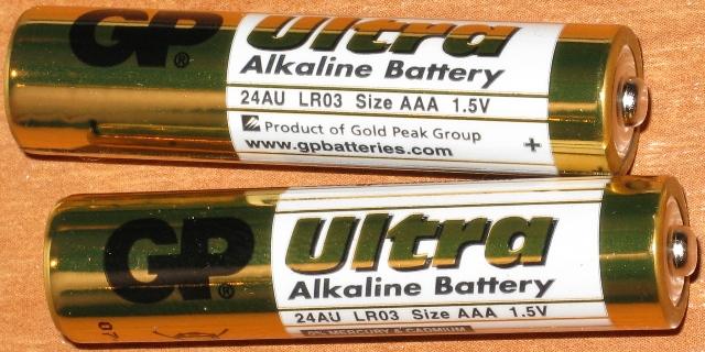 Алкалиновые <strong>аккумуляторы</strong>