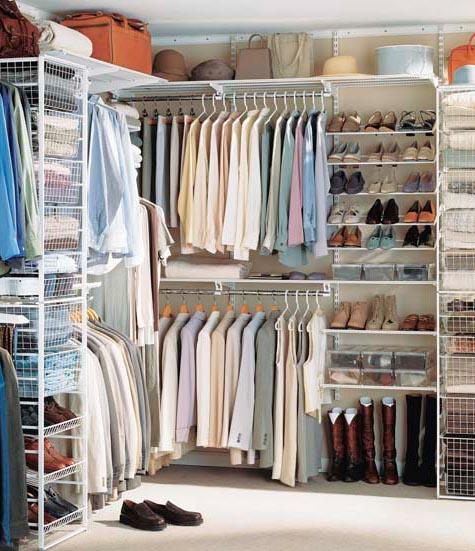 Как организовать хранение одежды