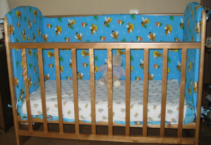 How to sew bumpers for Cribs