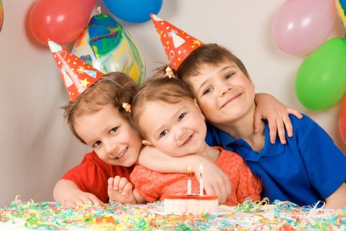 How to arrange a birthday party for your child at home