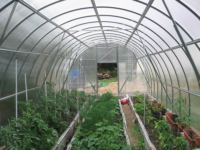 How to build a greenhouse with heating
