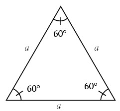 How to calculate angle in triangle