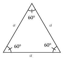 Как вычислить угол в треугольнике