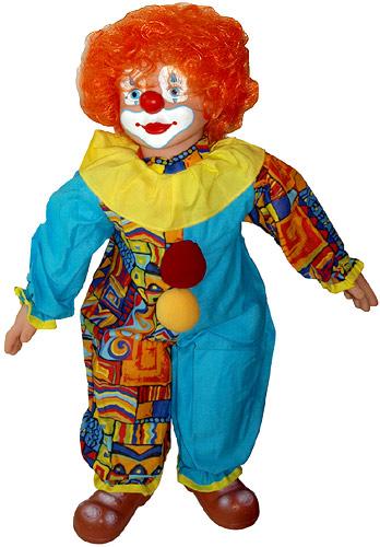 Как сшить клоуна
