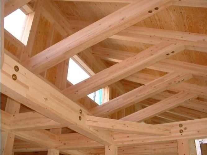 Как построить крышу деревянного дома