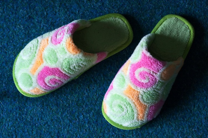 How to sew home Slippers