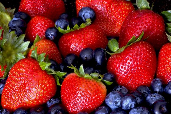 Как готовить ризотто с ягодами