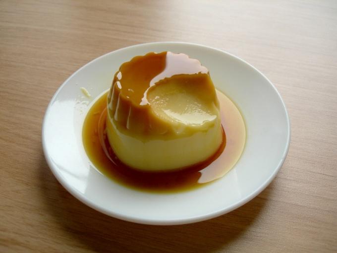 Как готовить крем-карамель