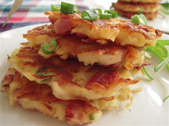 Как сделать жареный хлеб из картофельной муки (камдямидим)