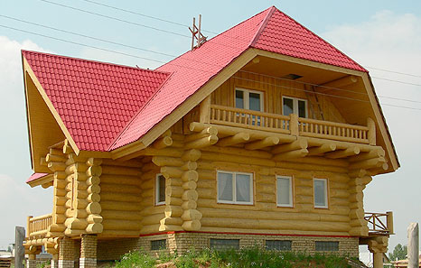 Как построить дом из бревен