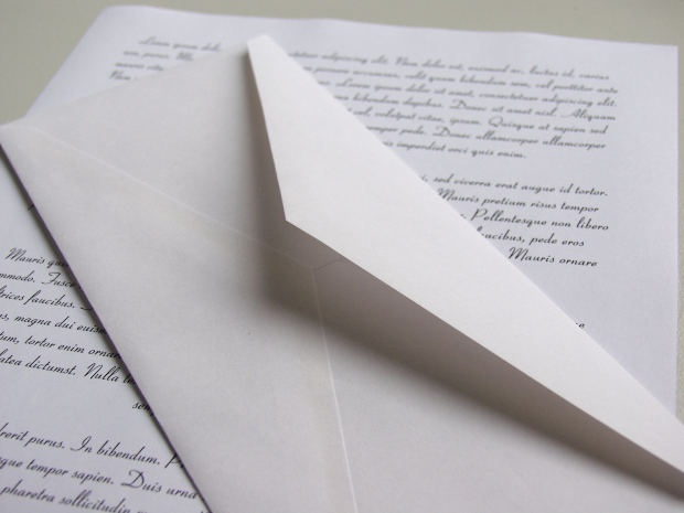 How to write a letter. examples