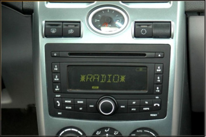 How to install the radio on