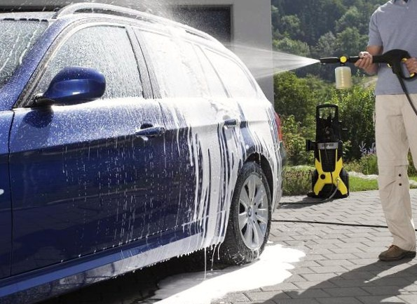 Как мыть керхером