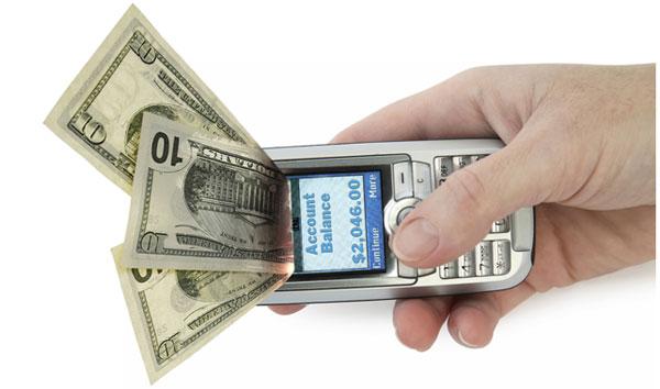 Как пополнить счёт на мобильный телефон через мобильный банк