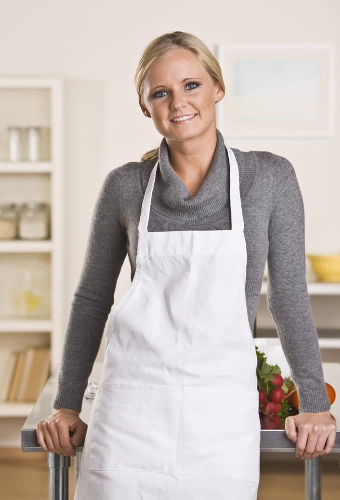 Как сшить фартук для кухни