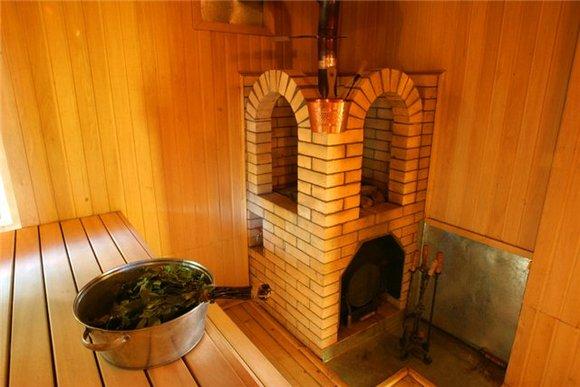 Как построить баню из кирпича своими руками