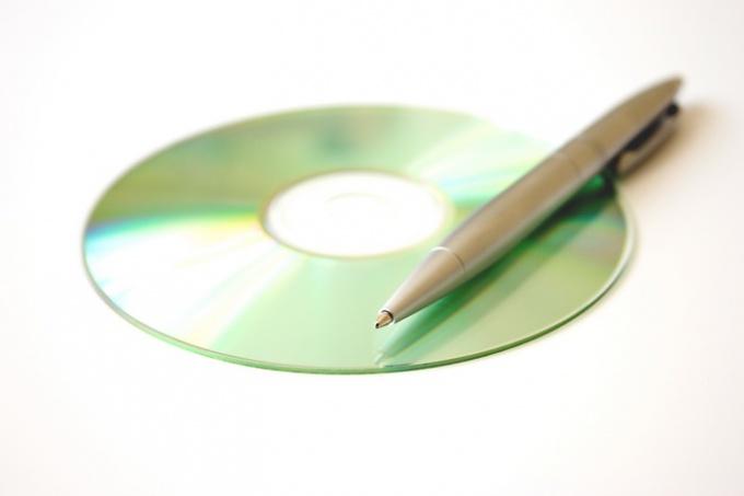Как подписать диск