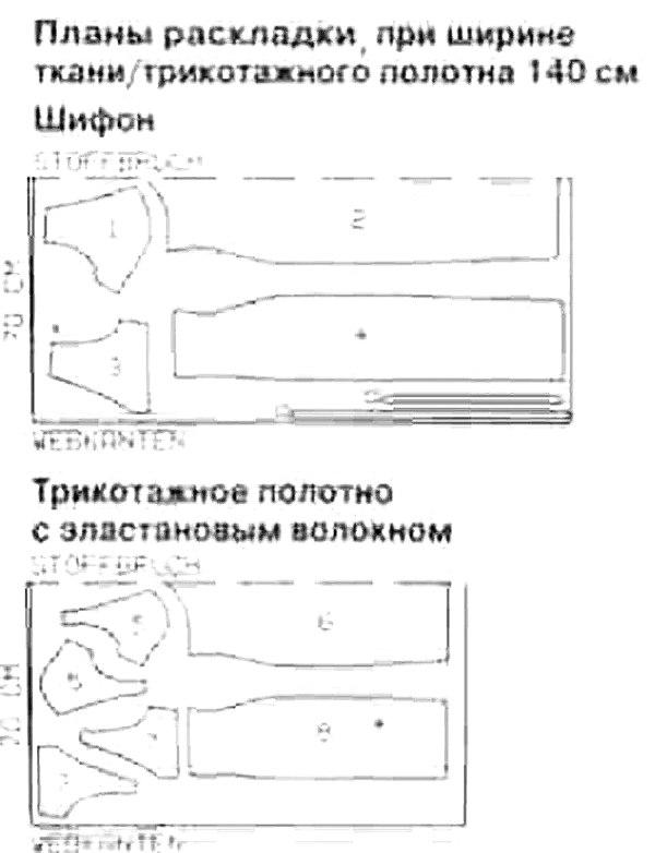 How to sew chiffon dress