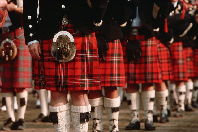 Шотландцы считают, что килт придает мужественность своему хозяину.