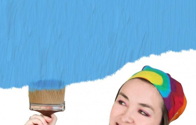 Матовые поверхности позволяют скрыть небольшие дефекты стен