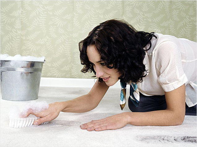 How to remove the smell of urine on the carpet