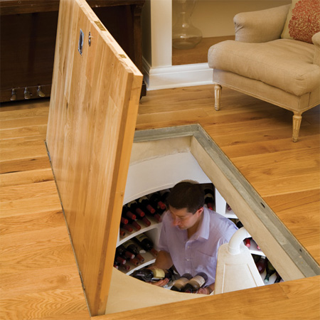 Как сделать погреб в доме