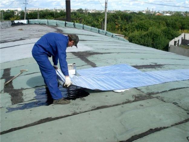 Как починить крышу
