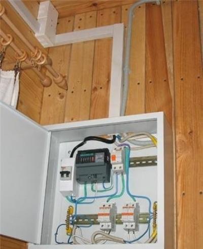 Как выполнить электропроводку