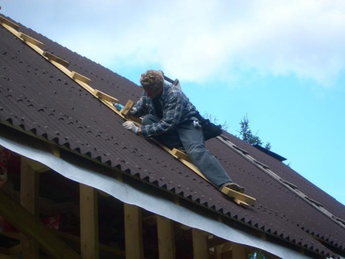 Как поменять крышу