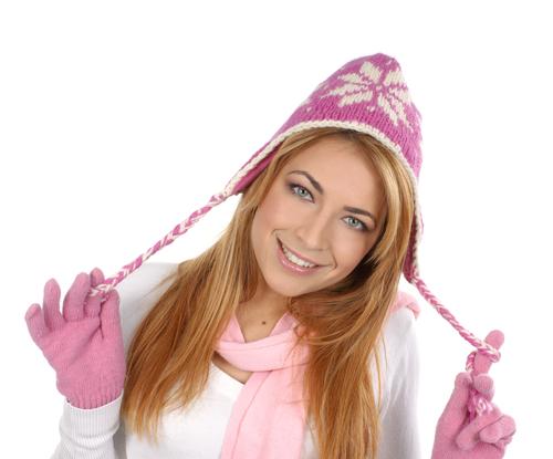 Как надевать шапку